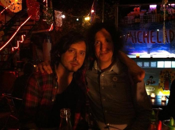 Gordon Raphael and Carl Bat, Buenos Aires 2012.